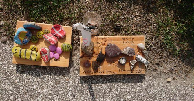 Bemalte Steine In Dänemark